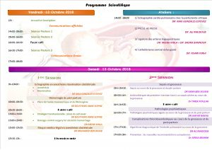 programme scientifique CAROS 2018 +